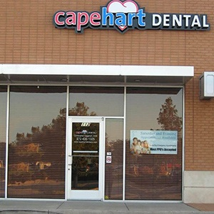 Outside view of Capehart Dental